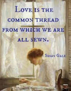 SEWING The Seeds Of Love